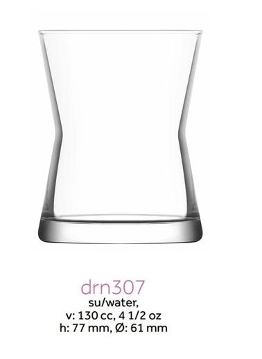 Lav Derin Kahve Yanı Su Bardağı - 6 Lı Küçük Su Bardağı Renkli